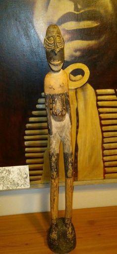 Papua New Guinea Ancestor Sepik River Figure Totem Wood Carved Figure Museum Pcs | Antiques, Ethnographic, Pacific Islands & Oceania | eBay!