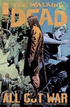 Capa da Edição #117 de The Walking Dead