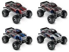 Traxxas Stampede 4X4 VXL Colors