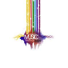 Music Festival Logo Design by Angelmaker666.deviantart.com