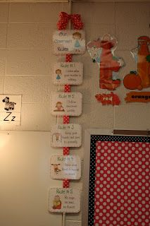 The Polka Dot Patch: Classroom Rules
