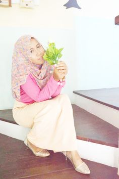 Any Pastel Hijab Outfit Style