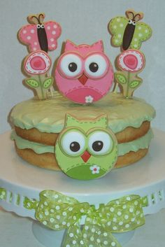 Owls Birthday!! For my niece's 3rd birthday!!! @Shannon Hunter