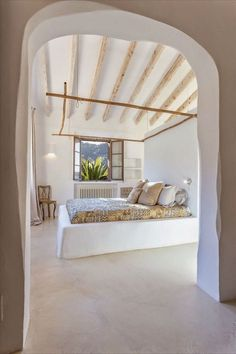 Vicky& Home: Rustic Mediterranean style rustic house / Rustic Mediterranean style . - Vicky& Home: Rustic Mediterranean style home / Rustic Mediterranean style home - Home Interior Design, Interior Architecture, Luxury Interior, Cob House Interior, Natural Interior, French Interior, Home Bedroom, Bedroom Decor, Summer Bedroom