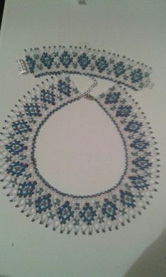 Bead Crochet, Beading Patterns, Seed Beads, Free Pattern, Songs, Beautiful, Necklaces, Craft, Loom