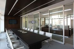 Modernfold Operable Partitions - Acousti-Clear® Acoustical Glass Wall Systems