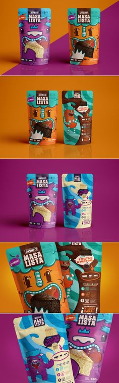 Masa Lista Cake Batter is Bringing a Whole Lot of Adorable — The Dieline | Packaging & Branding Design & Innovation News