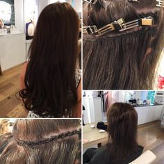 The Danish Djarling Hairextensions, we love them! Why? 100% human hair, no glue or chemicals and the wide range of colours! #djarlinghairextensions #hairextensions #hair #hairdo #hairstyle #metamorphosis #beauty #hairsalon #hairstylist #hairdresser #lamaisonamsterdam #hairextensionsamsterdam #rozengracht #amsterdam