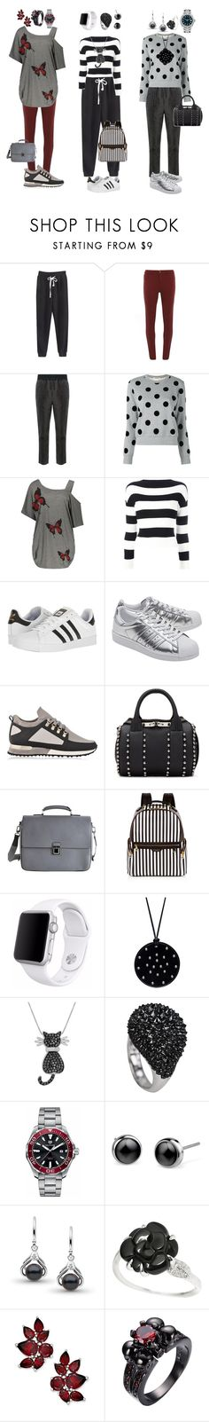 """""""Sem título #118"""" by criscaruccio ❤ liked on Polyvore featuring Dorothy Perkins, Haider Ackermann, Boutique Moschino, adidas, adidas Originals, MALLET, Alexander Wang, Louis Vuitton, Henri Bendel and Apple"""