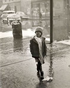 Rae Russel, Chicago,Child on Maxwell Street, 1948