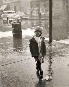 Rae Russel, Chicago, Filipino Child on Maxwell Street, 1948