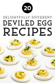 ) of these 20 delightfully different deviled egg recipes! We have some truly unique takes on the deviled egg that will delight your E Easter Deviled Eggs, Deviled Eggs Recipe, Easter Food, Easter Appetizers, Appetizer Recipes, Easter Recipes, Thanksgiving Recipes, Peach Syrup, Gluten Free Puff Pastry