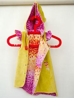 Volants Hooded bricolage couture robe motif par TutorialGirl