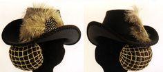 Elizabethan Women's Arched Brim Hat