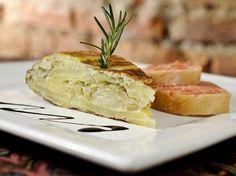 Tortilha de batata com tomate é prato rápido, fácil e gostoso Foto: Divulgação