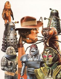 Chris Achilleos, The Doctor Who Monster Book II