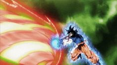 DBS (Ep. 116) Goku's Slide Up Kamehameha against Kefla