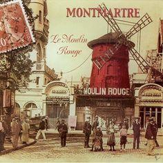 Resultado de imagen para moulin rouge vintage