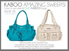 Awesome Giveaway!! Cool handbags.