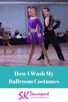 How I Wash my ballroom costumes pinit Ice Dance Dresses, Ballroom Dance Dresses, Figure Skating Dresses, Ballroom Dancing, Ballroom Hair, Ballroom Costumes, Dance Costumes, Latina, Salsa Dance Lessons