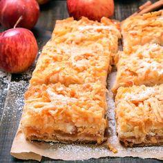 Schneller, saftiger Low Carb Apfelkuchen