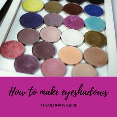 diy makeup Great guide about DIY eyeshadows. Entire process of making eyeshadows is explained together with all the ingredients required. You will learn to make homemade pressed eyeshadows, loose eyeshadows, matte eyeshadows and shimmery eyeshadows. How To Make Eyeshadow, Diy Eyeshadow, Cream Eyeshadow, Eyeshadow Palette, Homemade Blush, Homemade Make Up, Beauty Base, Make Your Own Makeup, Diy Lip Gloss