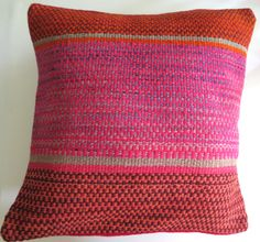 Peruvian Handmade Pillow - 100% wool - Available now at www.loomimports.com