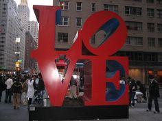 LOVE Sign || New York, NY
