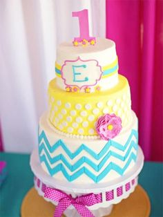 12 gorgeous first birthday cakes from Pinterest - Slide 11 - Canadian Living