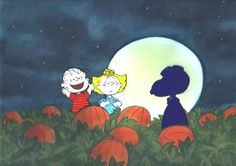 The Great Pumpkin Rises - Bill Melendez' hand painted PEANUTS Limited Edition Cels