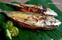 Piece of Cake: Ikan Cencaru Sumbat (Terengganu)/Spicy Stuffed Fis...