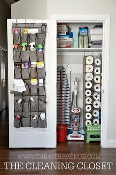 These dollar store organizing ideas are creative, useful, and only a buck! Fun and easy ideas for every room of your home.
