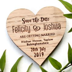 Wedding Save the date, Rustic Save the Date Magnets, Save The Date Magnets, Wedding Magnets, Wood ma Rustic Save The Dates, Wedding Save The Dates, Save The Date Magnets, Tie The Knots, Wedding Bells, Wedding Venues, Wedding Ideas, Getting Married, Projects To Try