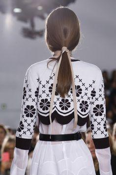 Details from Christian Dior Spring/Summer 2016.Paris Fashion Week