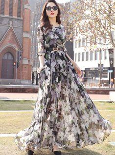 Stylish Dresses For Girls, Simple Dresses, Elegant Dresses, Pretty Dresses, Beautiful Dresses, Casual Gowns, Long Skirt Fashion, Korean Fashion Dress, Indian Fashion Dresses