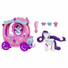 suggestion made - Amazon.com: My Little Pony Rarity's Royal Gem Carriage: Toys & Games $39.90