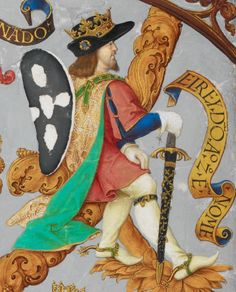 Portuguese History 03 - D. Afonso II Home Trends trend home security British Library, Portuguese Royal Family, History Of Portugal, Medieval, Old Portraits, Historical Art, Old Paintings, Renaissance Art, Stop Motion