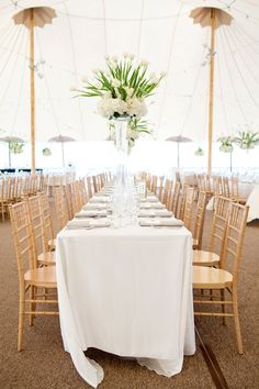 INSP | gold white simple tall center piece