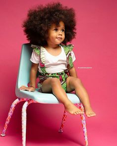 Jewellery For Lady - Curly Afro Hair, Curly Girl, Baby Girl Fashion, Toddler Fashion, Kids Fashion, Natural Hairstyles For Kids, Natural Hair Styles, Hair Milk, Color Your Hair
