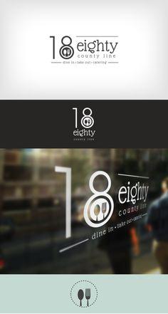 Logo Design | Branding | 1880 County Line | Deli & Cafe | Heart and Ram Design Co.