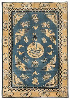 Chinese carpet - 19th century