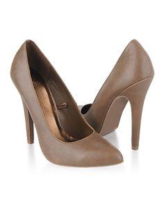 leatherette stiletto heels $22.80
