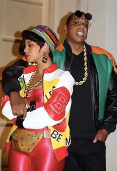 f615a7ed0c5 Beyoncé and Jay Z as Salt-N-Pepa and Dwayne Wayne