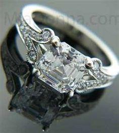 Vintage Wedding Rings brilliant