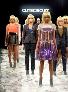 CuteCircuit's iPhone Controlled Fashions at NYFW – Fashioning Technology