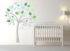 Stickers cameretta ~ Albero adesivo da muro cameretta bambini wall decal wall