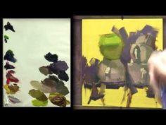Carol Marine Daily Painting Demo No. 2
