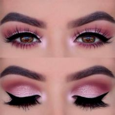 Cool 31 Best Pink Eye Makeup Ideas for Your Evening Out https://clothme.net/2018/02/24/31-best-pink-eye-makeup-ideas-evening/