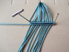 Knot Just Macrame by Sherri Stokey: Hints & Tips for Micro Macrame Knotting