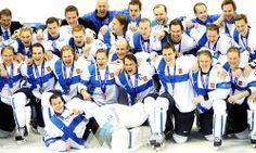 Team Finland, Bronze Medallists #Sochi2014